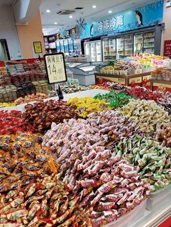浙江地区超市休闲零食供货