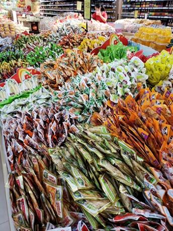 江苏区域超市休闲零食供货