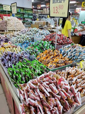 云南区域超市豆干系列供货
