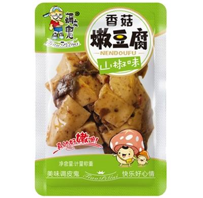 调皮鬼-香菇嫩豆腐-山椒味